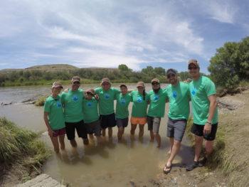 RRAFT participants pause for a photo along the Gunnison River. | Dan Omasta