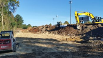 Creating bioretention ponds at Owens Field Park.  | Erich Miarka