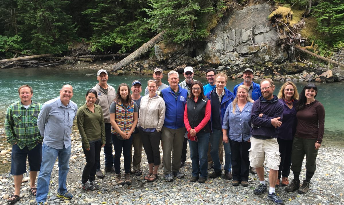 Thank you Congresswoman Suzan DelBene for a great day on the river and for supporting the outdoor recreation businesses that rely on special places like the Nooksack!