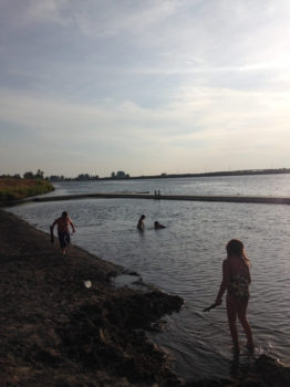 Kids playing in the Snake River. | Snake River Waterkeeper