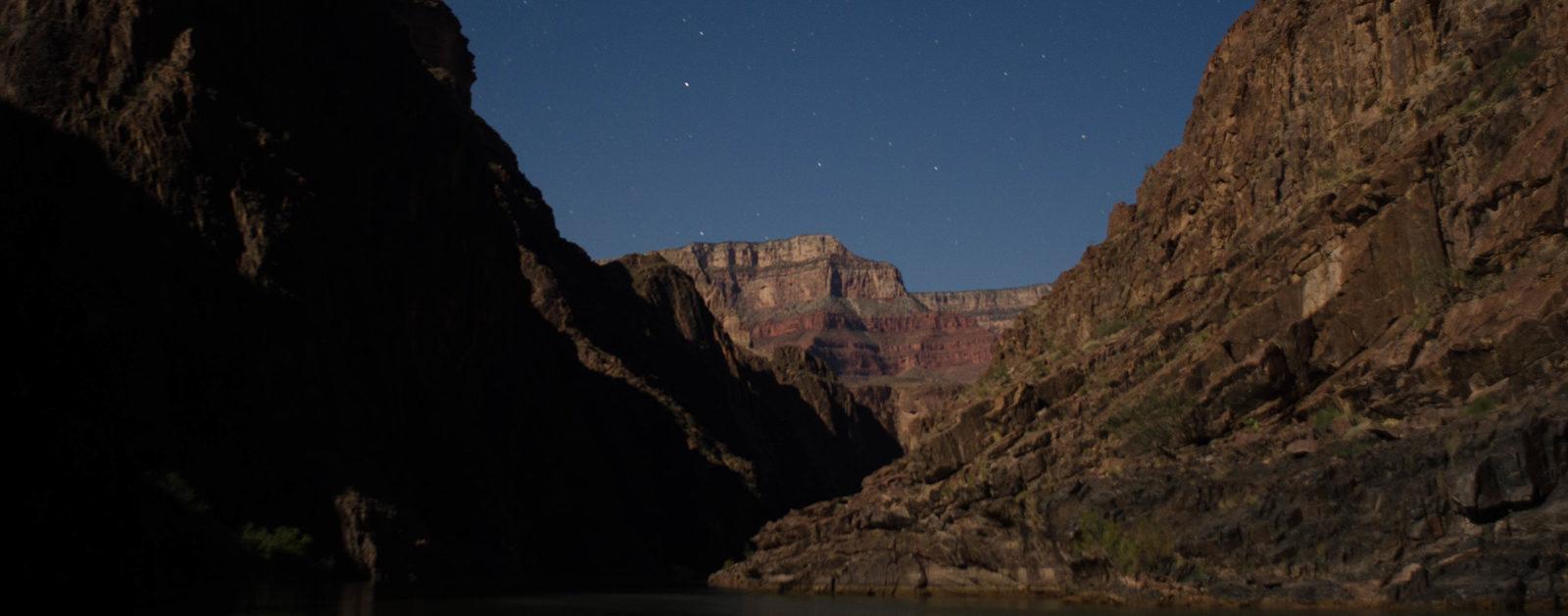Moon light at Salt Creek.   Ken Neubecker