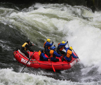 Rafting on the Lochsa River. | Kevin Lewis