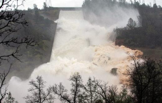 Oroville Dam, California