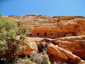 Multi-room Ancestral Puebloan ruin in Bears Ears National Monument. | Mike Fiebig