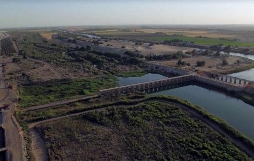 Morelos Dam, Lower Colorado River   Justin Clifton