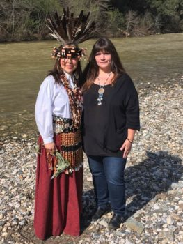 Shelly Covert at the Bear River. | Photo Shelly Covert