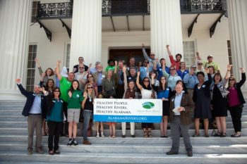 Alabama Rivers Alliance and partners lobbying for Rivers of Alabama Day and America's Most Endangered Rivers Day. | Alabama Rivers Alliance