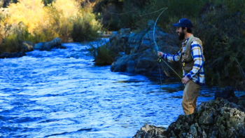 Fishing on the Bear River. | Photo: Voice of the Bear River