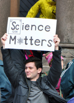 Protestors are the Boston Rally for Science. | Photo: AnubisAbyss (Flickr)