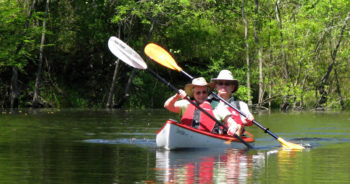 Kayaking on Black Creek. | Photo: Cape Fear Riverwatch