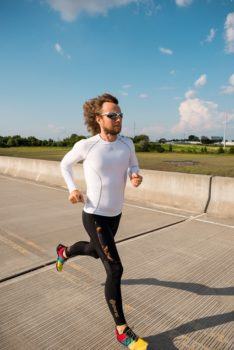 Keith on a training run in South Carolina. | Photo: Colin Robinson