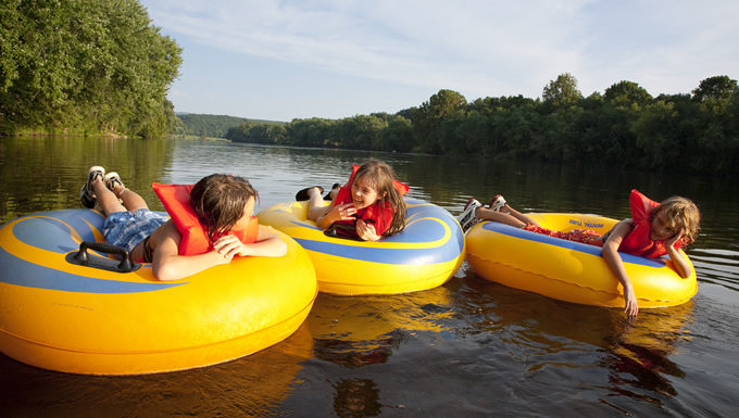 Kids Tubing on the James River, VA | Virginia Department of Conservation and Recreation