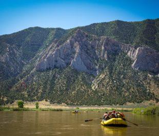 Yampa River rafting, CO. | Photo: Sinjin Eberle