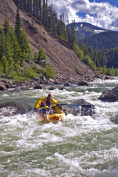 Rafting on the Middle Fork of the Flathead River, MT. | Photo: Lee Cohen