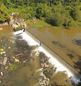 NEUSE RIVER TO FLOW FREELY AFTER MILBURNIE DAM REMOVED Restoring Rivers