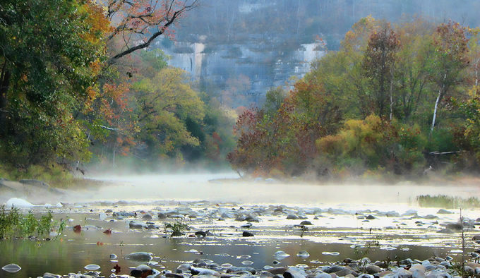 Misty Buffalo National River | AR Nature Gal (Flickr)