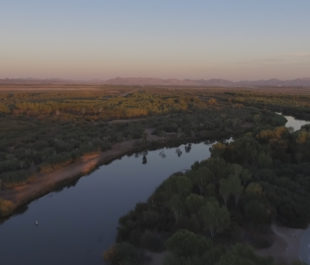 The Colorado River through Yuma, AZ. | Sinjin Eberle