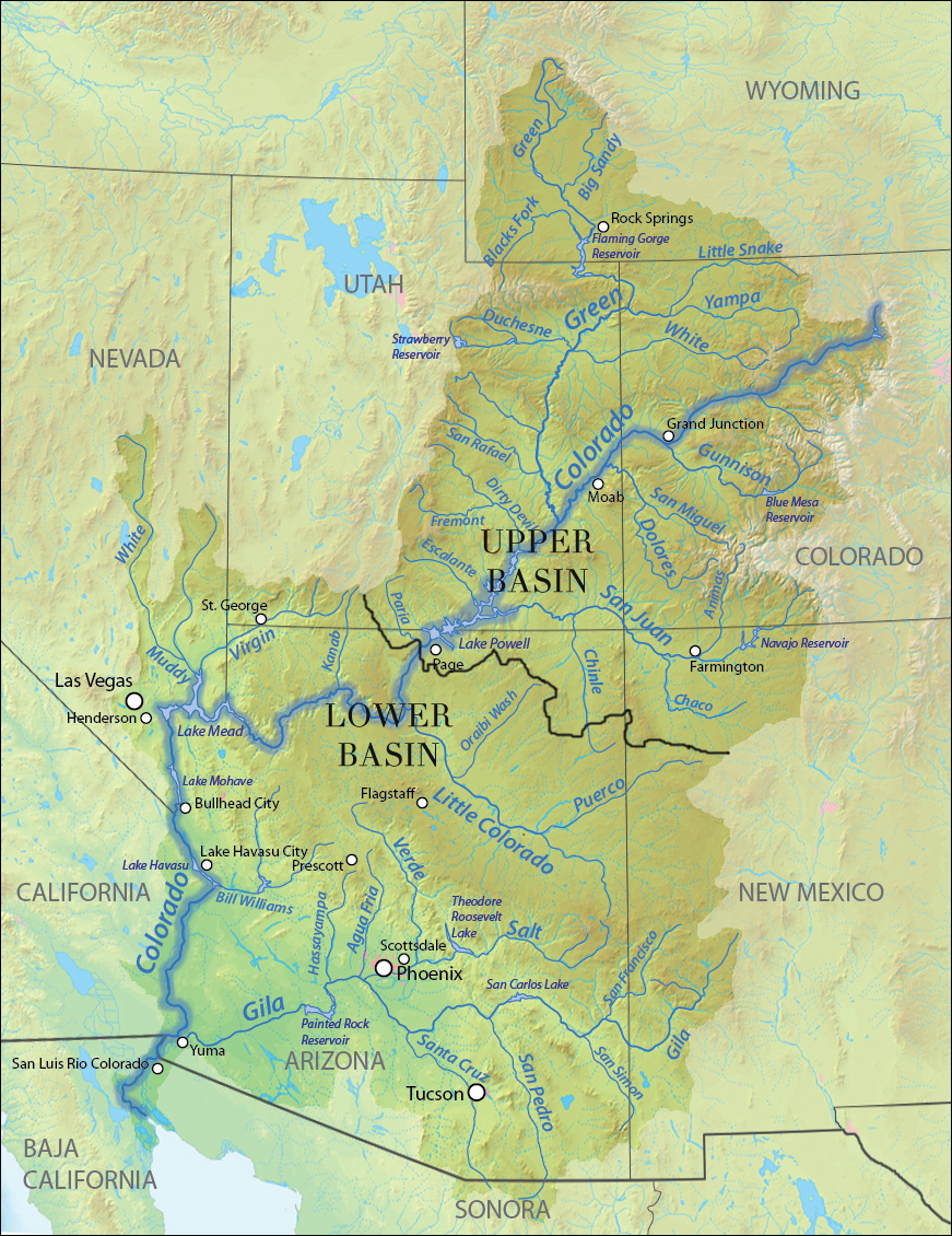 Upper Basin of the Colorado River | American Rivers on san juan river peru map, snake river world map, orange river world map, parana river world map, delaware river world map, gila river world map, amazon river world map, yellowstone river world map, jordan river world map, arkansas river world map, illinois river world map, san juan river cuba map, san juan river google map, saint lawrence river world map,