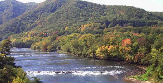 French Broad River, NC | Peter Raabe