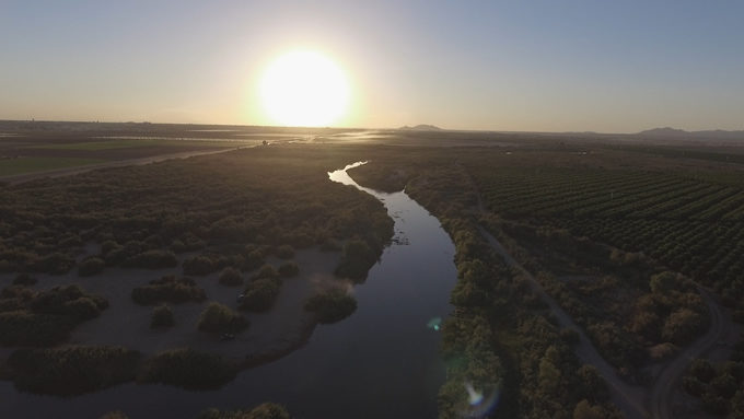 Colorado River in Yuma, AZ | Sinjin Eberle