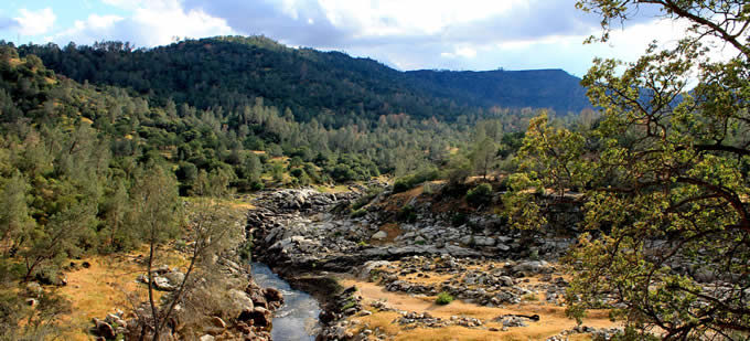 San Joaquin River Gorge (Proposed Temperance Flat Dam) | Photo: Friends of the River