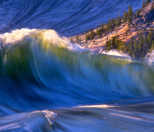 Brink of Glen Aulin Falls, Tuolumne River, CA. | Photo: Tim Palmer