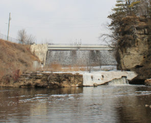 Kinnickinnic River dams.   Photo: Michael Page