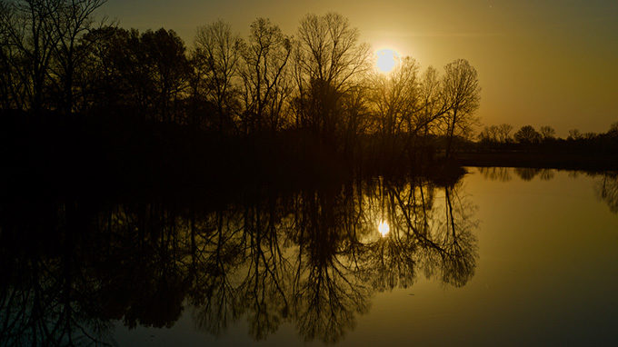 Big Sunflower River at sunrise. | Stephen Kirkpatrick