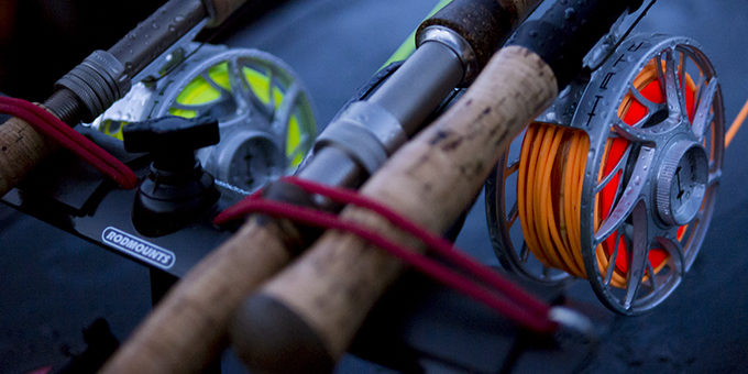 Rigged and ready to hit the water for a late winter steelhead session. | Bobby Foster