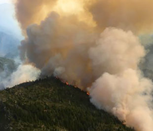 Summer 2017's Chetco Bar wildfire