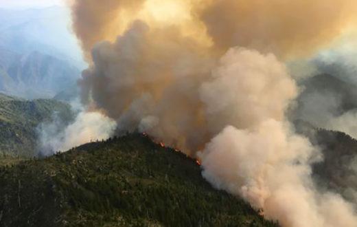 Summer 2017's Chetco Bar wildfire