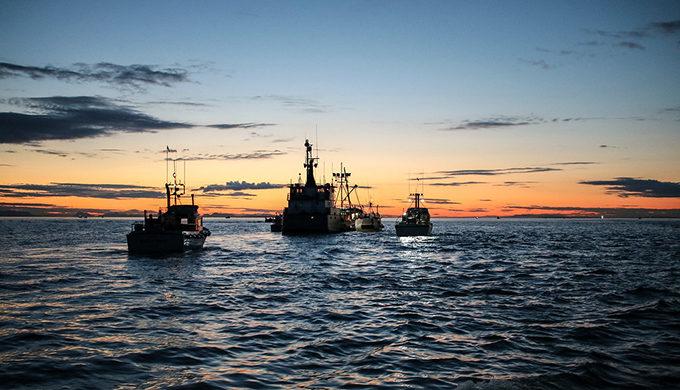Fishing boats in Bristol Bay. | Kai Raymond