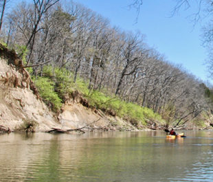 Kayaking the Vermilion River. | Pam Richart, Eco-Justice Collaborative