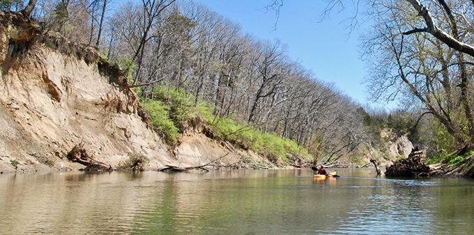Kayaking the Vermilion River. | Pam Richart, Eco-Justice Collaborative
