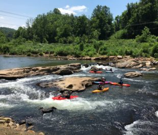 Dillsboro Drop on the Tuckasegee River | Photo by the JCTDA