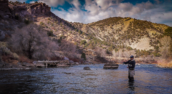 Fishing on the Animas River | Photo by Sinjin Eberle