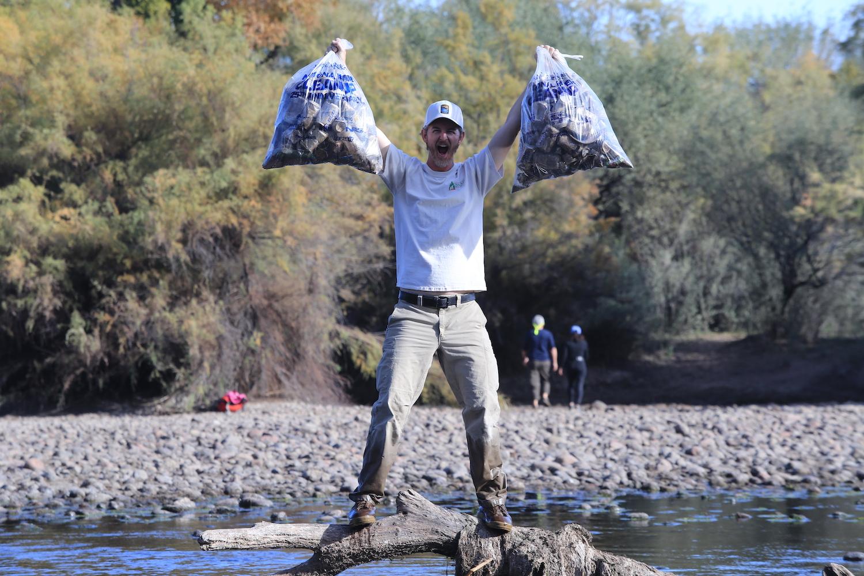 Tom Corey | Lower Salt River, AZ | 2nd Annual Green Friday Lower Salt River Cleanup