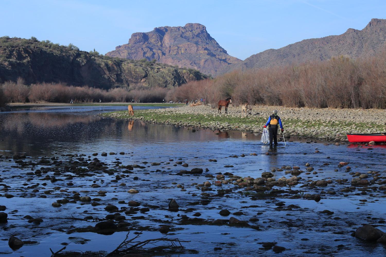 Tom Corey | Lower Salt River, AZ | Lower Salt River Land & Water Cleanup