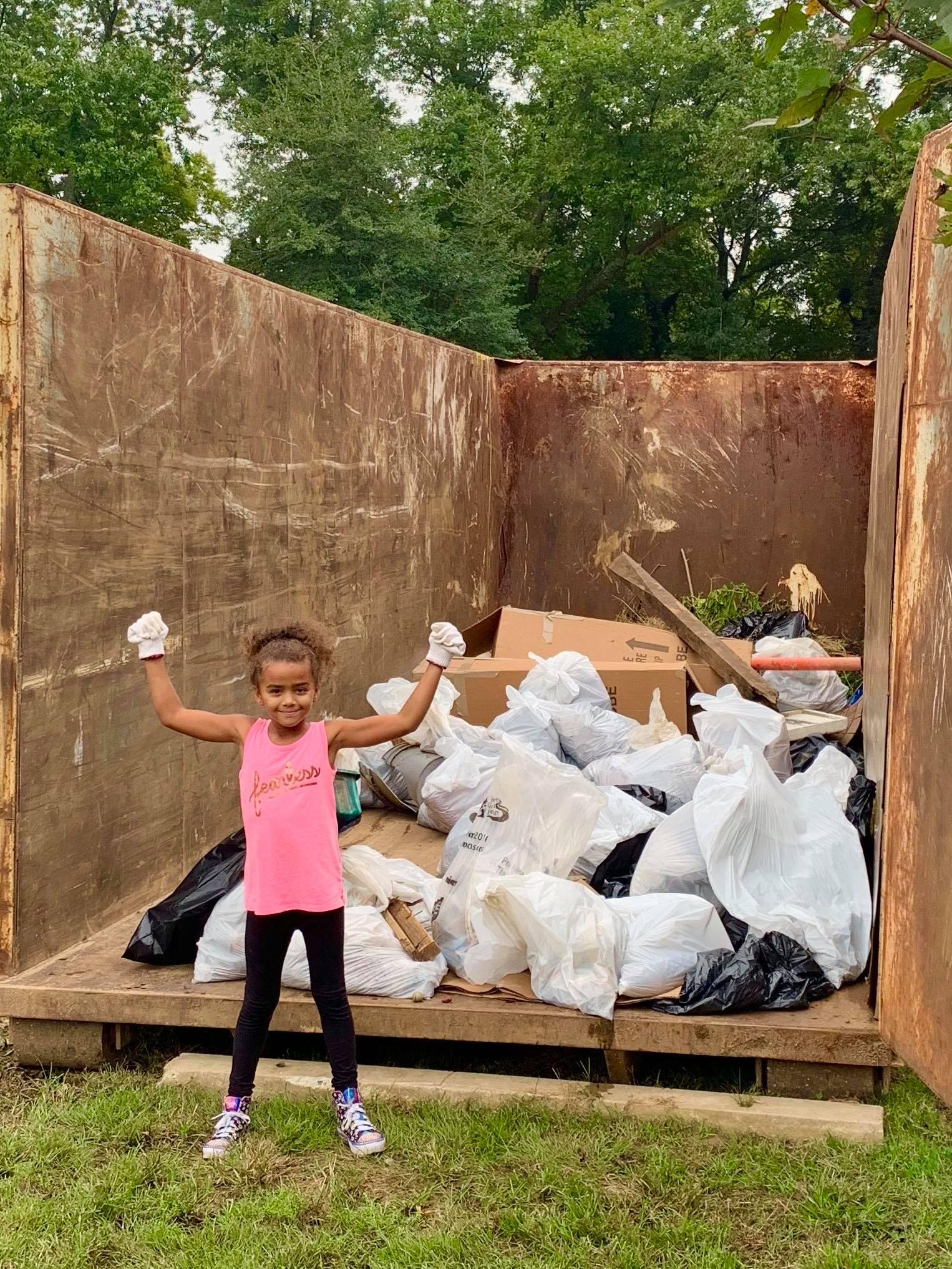 Johanna Bergenholtz | Rappahannock River | Friends of the Rappahannock's Big Fall Cleanup 2018