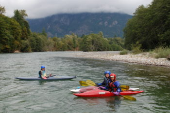 Kayaking on the Skagit River | Photo by Thomas O'Keefe