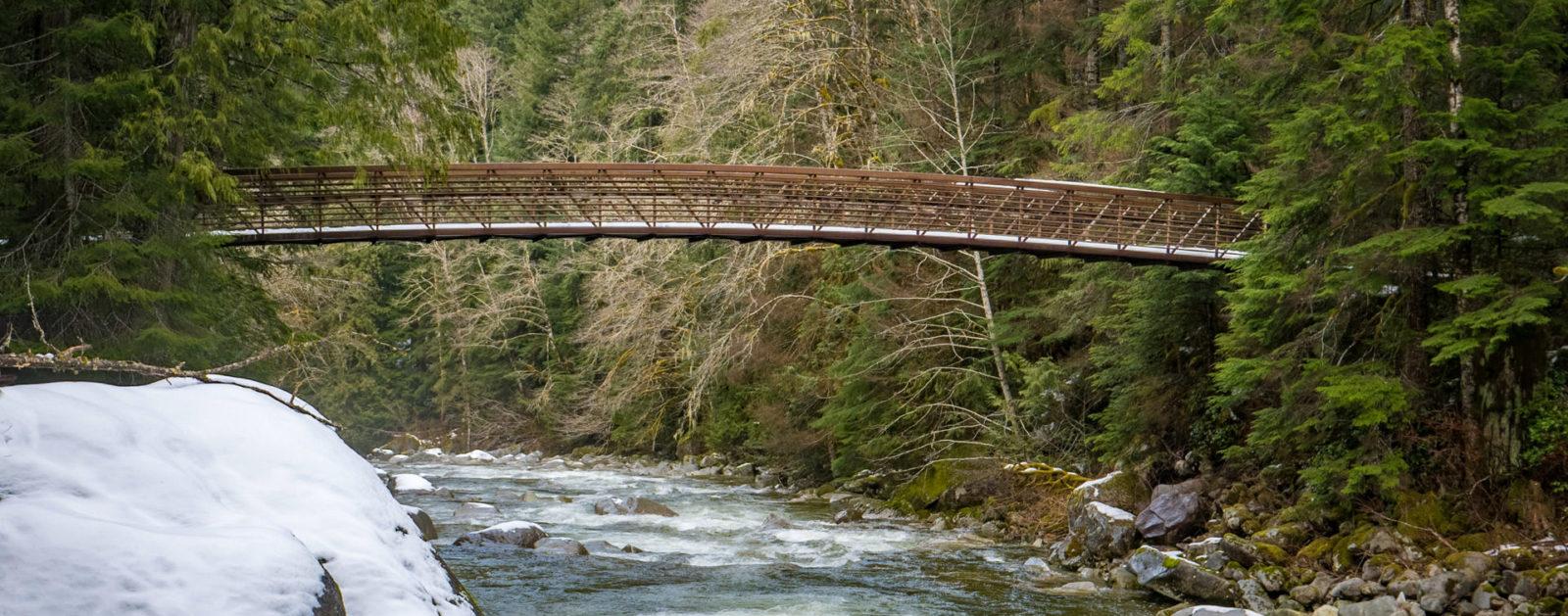 Middle Fork Snoqualmie River Bridge   Photo by Monty VanderBilt