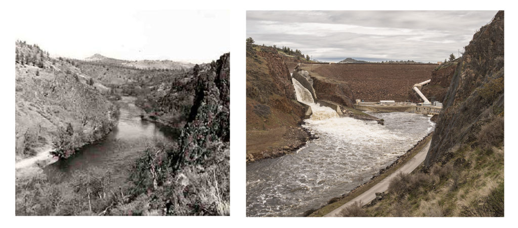 Iron Gate Dam then and now | Klamath River