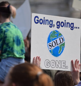 EVERYTHING MUST GO! SELLING OUT RIVERS AND CLEAN WATER. Climate Change & Rivers
