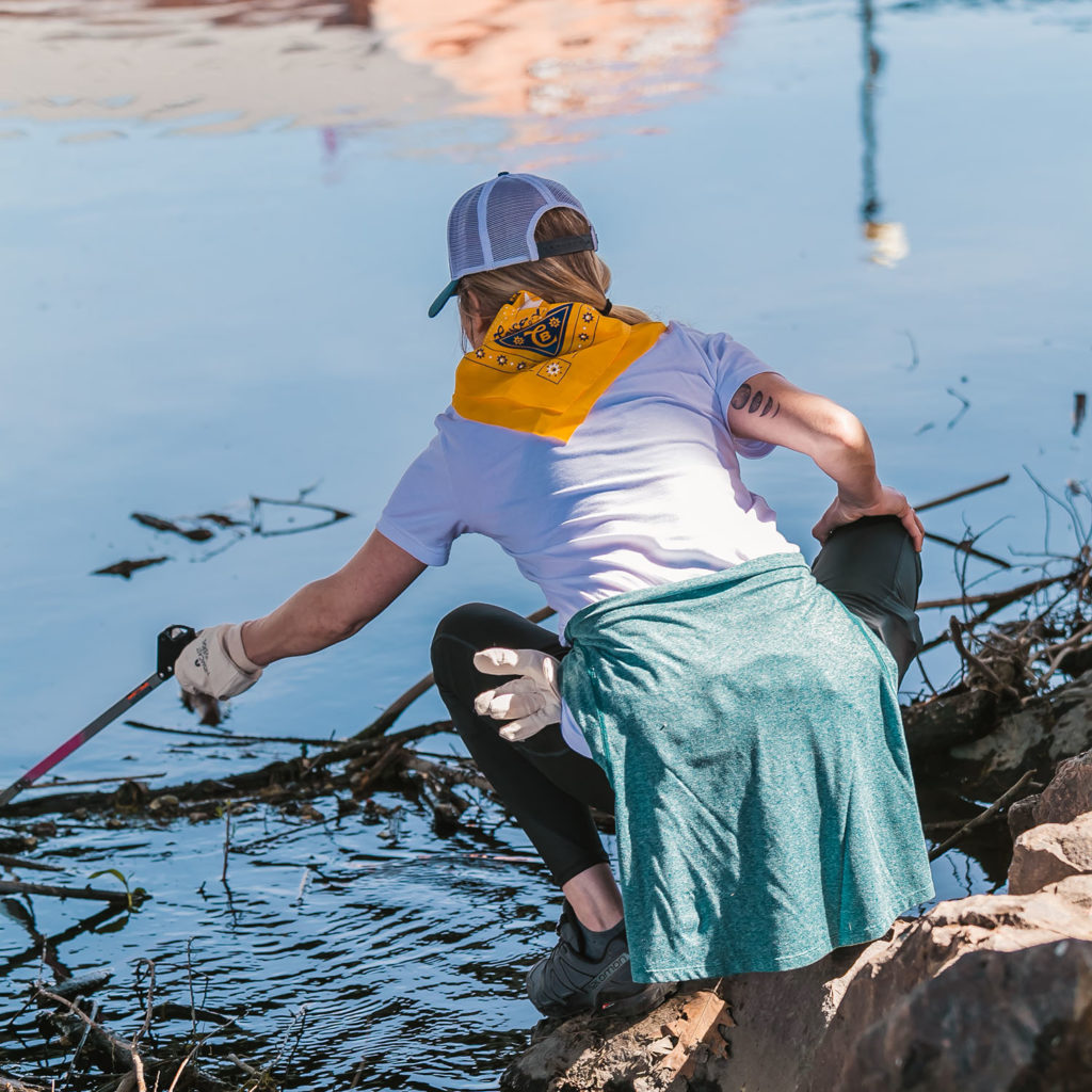 South Platte Stewardship Day in Denver 2019 | Photo Courtesy of Cascade Blonde