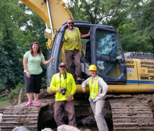Shuford Dam Removal | Photo by Erin Singer McCombs