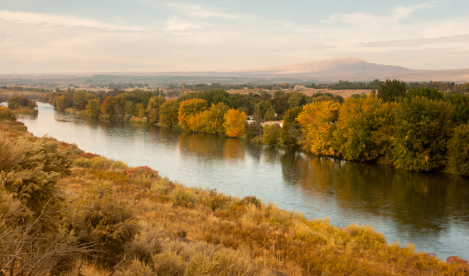 The Yakima River by Chris Boswell