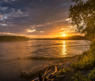 Lower Missouri River | Photo by Heath Cajandig