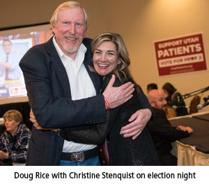 Doug Rice and Christine Stenquist