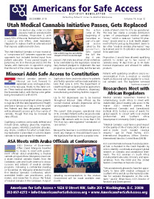 PDF of ASA Activist Newsletter - Dec 2018