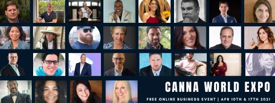 Canna World Expo speakers